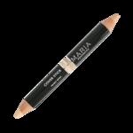 COVER STICK |Nearly Beige, een dubbele correctie pen, 100 % plantaardig, geeft een matte dekking in een passende kleur met een langdurige werking