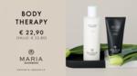 BODY THERAPY | Body Scrub 100 ml + Body Lotion Beautiful 250 ml zorgen voor een hydratatie en een gezonde, gladde en glanzende huid
