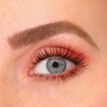 EYESHADOW LOLLIPOP | Warme koraal kleurige oogschaduw zonder glinstering (mat)