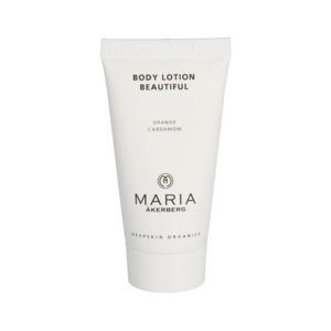Reisverpakking  BODY LOTION BEAUTIFUL 30 ml | Heerlijke geur bodylotion voor de droge huid met pigmentvlekken | BIO ECO
