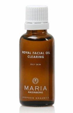 ROYAL FACIAL OIL CLEARING | Vette tot acne neigende huid, tevens geschikt voor een gevoelige huid met acne