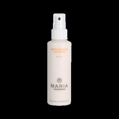 PROTECTING OIL OUTDOOR | Zonnebrandolie voor het gezicht en het lichaam met het natuurlijke zonnefilterTitaniumdioxide.