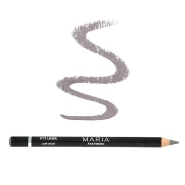 EYELINER DARK VELVET | Koele donkergrijze tint oogpotlood met een lichte glans, natuurzuiver