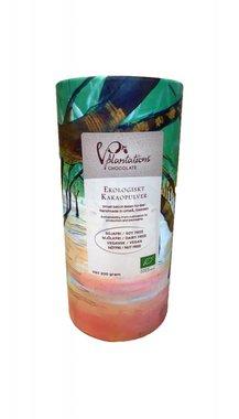 BIOLOGISCHE CACAO POEDER | RAW CACAO POEDER 200 GRAM | Van boon tot cacaopoeder, biologisch product en verpakking
