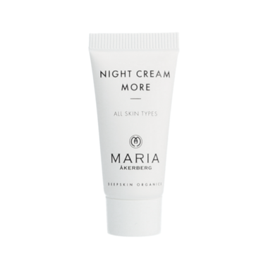GIVE AWAY | NIGHT CREAM MORE 5 ML Cadeau bij je bestelling!
