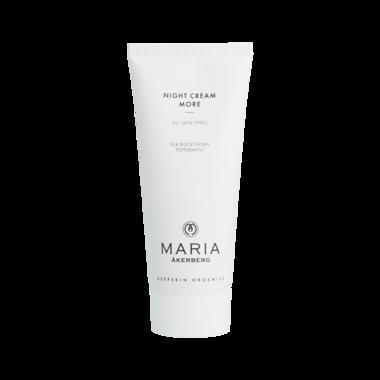 NIGHT CREAM MORE   Luxe nachtcrème voor de rijpere huid, rijk aan antioxidanten