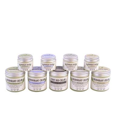 Naturlig Deo   Cream Deodorant   Organic   Aluminiumvrij   Handgemaakt met liefde voor mens, dier en natuur   Een biologische créme deo, die de zweetgeur elimineert én de huid verzorgt én die niet