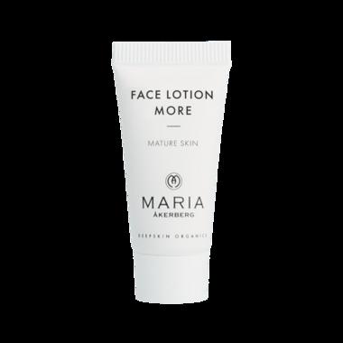 Reisverpakking FACE LOTION MORE 5 ml | Anti-aging crème Rijpere, gevoelige huid | BIO ECO
