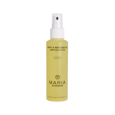 BODY & MASSAGE OIL ANTICELLULITE | Stimuleert de doorbloeding, detox - reinigt de lymfen, sterkt de venen aan