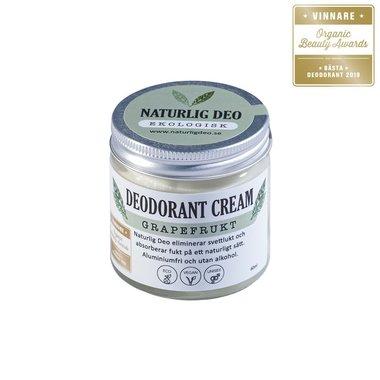 Naturlig Deo | Cream Deodorant | BIO ECO | Aluminiumvrij en zuinig in gebruik!