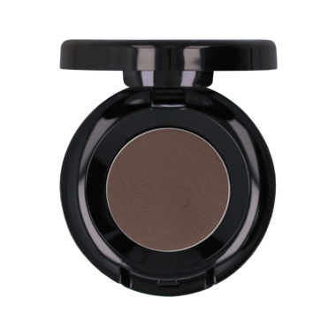 EYESHADOW COLD BROWN | koele donkerbruine tint oogschaduw met glinstering