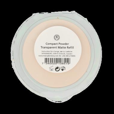 COMPACT POWDER TRANSPARENT MATTE REFILL | Transparante poeder, fixeert de make-up