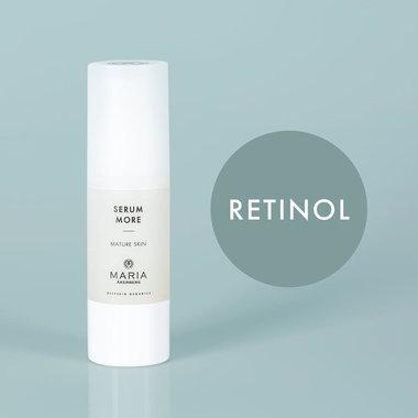 SERUM MORE | NIEUW! Gladmakend en verstevigend serum voor de rijpere huid met Melkzuurbacteriën (probiotica) en Retinol