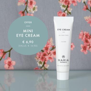 Reisverpakking MINI EYE CREAM 15 ml | Hydraterende en voedende oogcrème met Vitamine A