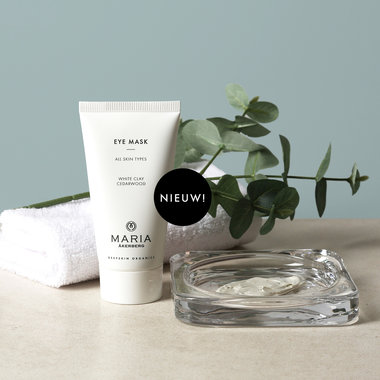 EYE MASK | Eye Mask is een rustgevend masker met Witte Klei en Cederhout extract