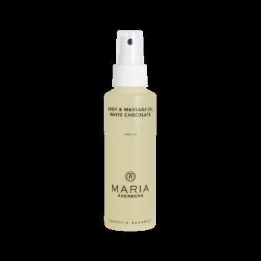BODY & MASSAGE OIL WHITE CHOCOLATE | VANILLA, verrukkelijke massage- en lichaamsolie!
