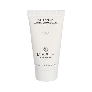 Reisverpakking SALT SCRUB WHITE CHOCOLATE 30 ML | MARIA ÅKERBERG | BIO ECO