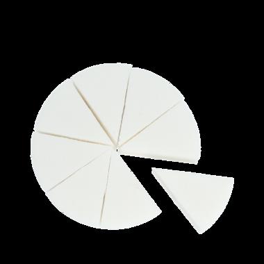 MAKEUP SPONGES 8-PACK | Kleine make-upsponzen van synthetisch materiaal