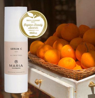 SERUM C   Nachtserum, echte skinboost voor alle huidtypes, pigmentvlekken, zonbeschadigde huid