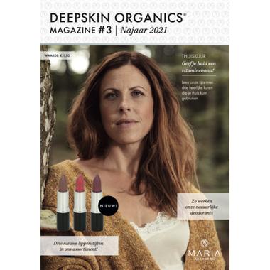 DEEPSKIN ORGANICS MAGAZINE HERFST 2021 #3 | MARIA ÅKERBERG