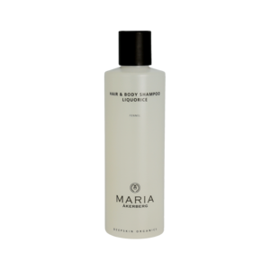 HAIR & BODY SHAMPOO LIQUORICE   Milde shampoo en douche gel in 1