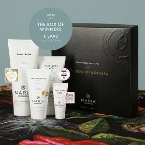 THE BOX OF WINNERS   Limited Edition by MARIA ÅKERBERG